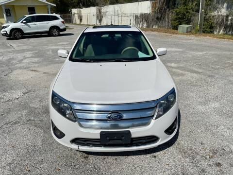 2012 Ford Fusion for sale at Louie's Auto Sales in Leesburg FL