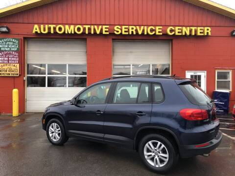 2013 Volkswagen Tiguan for sale at ASC Auto Sales in Marcy NY