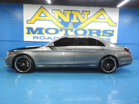 2017 Mercedes-Benz S-Class for sale at ANNA MOTORS, INC. in Detroit MI