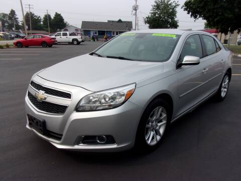 2013 Chevrolet Malibu for sale at Ideal Auto Sales, Inc. in Waukesha WI