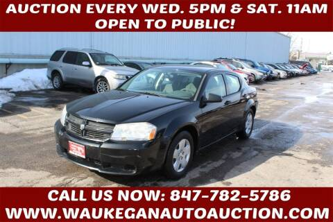 2008 Dodge Avenger for sale at Waukegan Auto Auction in Waukegan IL
