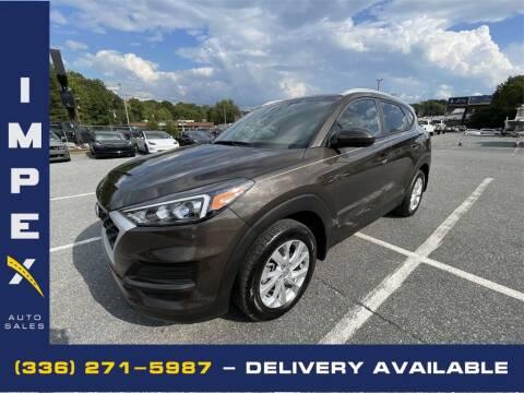 2020 Hyundai Tucson for sale at Impex Auto Sales in Greensboro NC