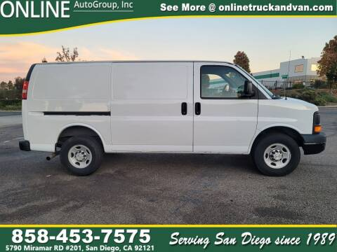 2010 Chevrolet Express Cargo for sale at Online Auto Group Inc in San Diego CA