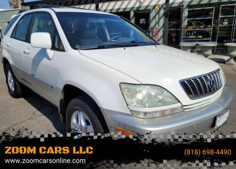2001 Lexus RX 300 for sale at ZOOM CARS LLC in Sylmar CA