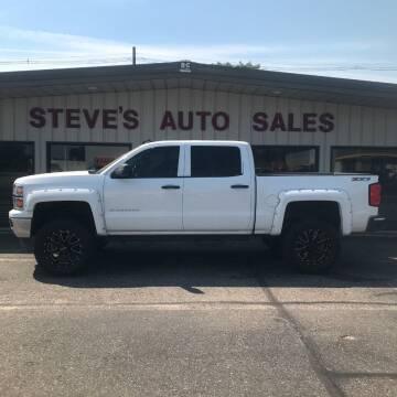 2014 Chevrolet Silverado 1500 for sale at STEVE'S AUTO SALES INC in Scottsbluff NE
