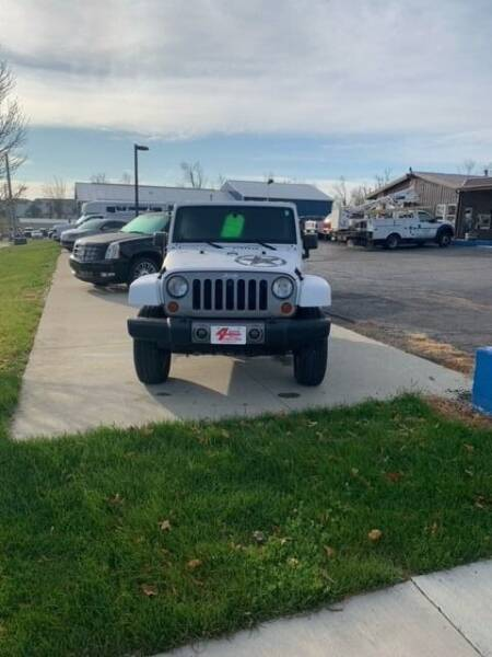 2012 Jeep Wrangler for sale at Four Guys Auto in Cedar Rapids IA