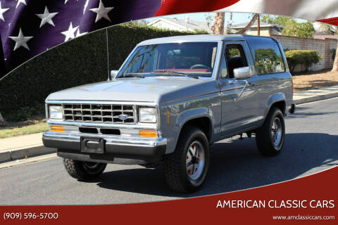 1987 Ford Bronco II for sale at American Classic Cars in La Verne CA