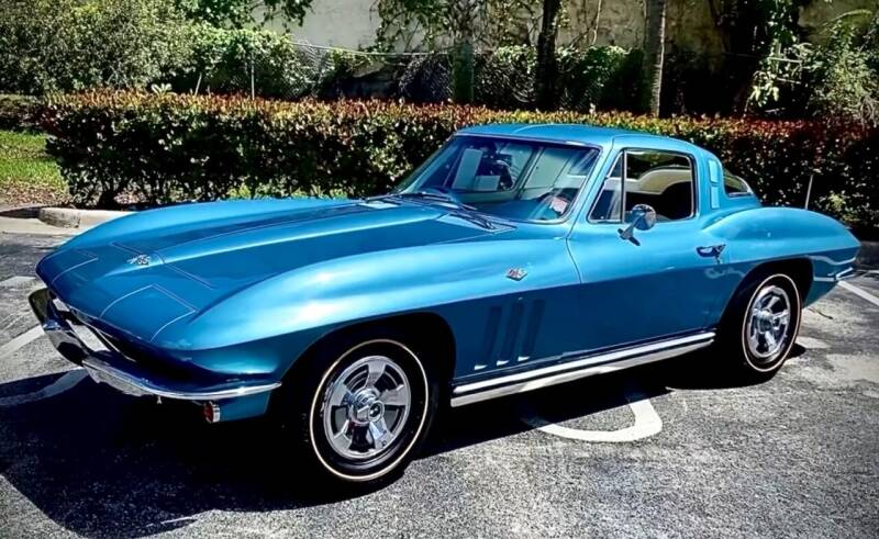 1965 Chevrolet Corvette for sale at Suncoast Sports Cars and Exotics in West Palm Beach FL
