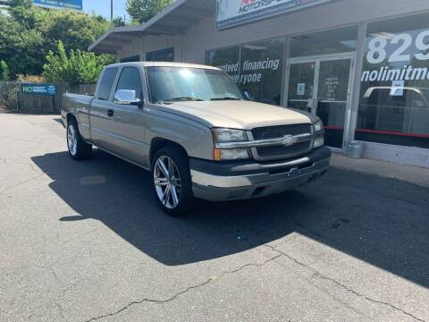 2003 Chevrolet Silverado 1500 for sale at NO LIMIT MOTORSPORTS in Belmont NC