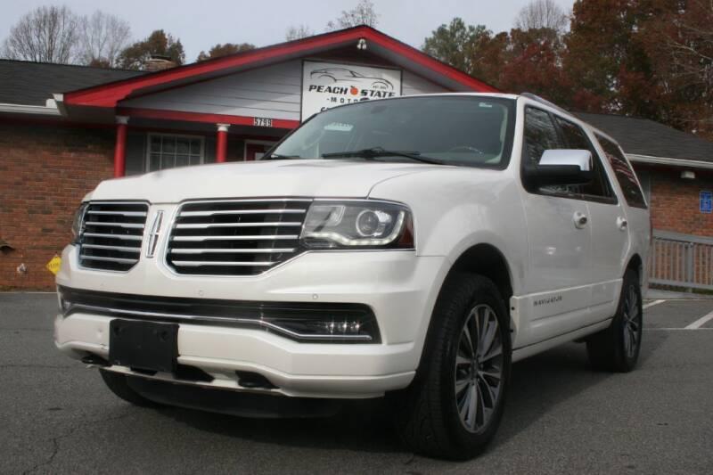 2015 Lincoln Navigator for sale at Peach State Motors Inc in Acworth GA