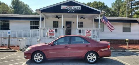 2005 Toyota Camry for sale at CVC AUTO SALES in Durham NC