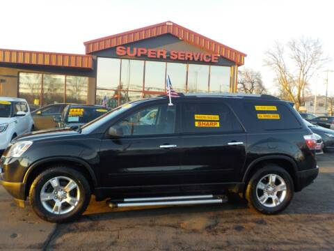 2011 GMC Acadia for sale at Super Service Used Cars in Milwaukee WI