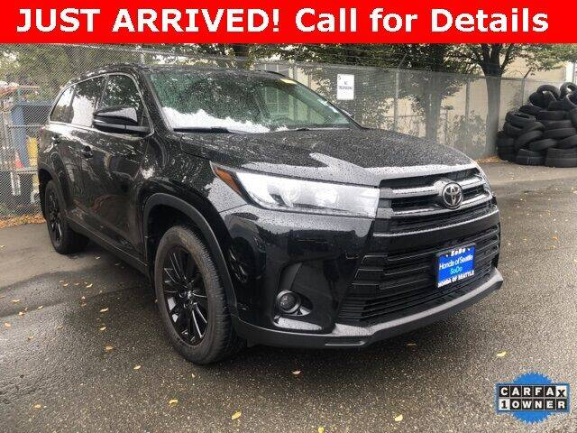 2019 Toyota Highlander for sale at Honda of Seattle in Seattle WA