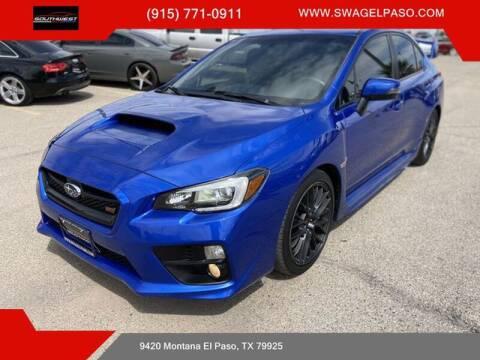 2017 Subaru WRX for sale at SOUTHWEST AUTO GROUP-EL PASO in El Paso TX