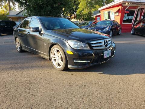 2012 Mercedes-Benz C-Class for sale at Universal Auto Sales in Salem OR