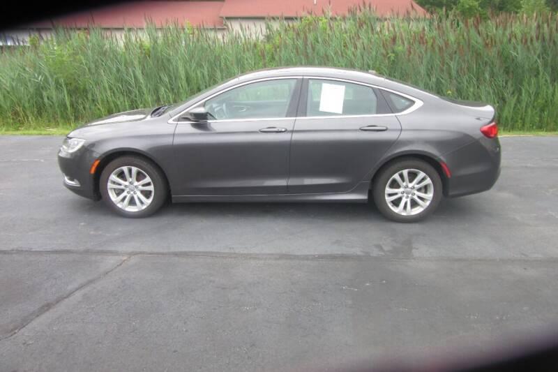 2015 Chrysler 200 for sale at Burgess Motors Inc in Michigan City IN