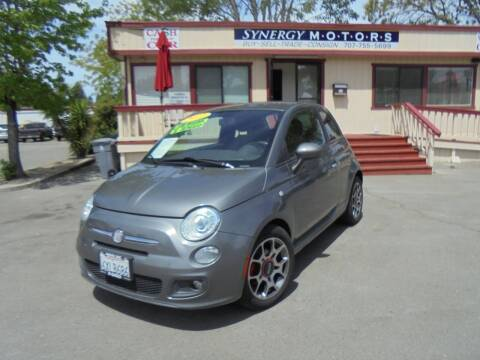 2012 FIAT 500 for sale at Synergy Motors - Nader's Pre-owned in Santa Rosa CA
