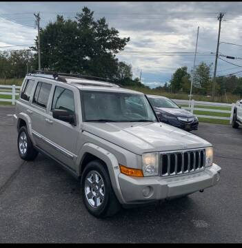 2008 Jeep Commander for sale at COUNTRYSIDE AUTO SALES 2 in Russellville KY