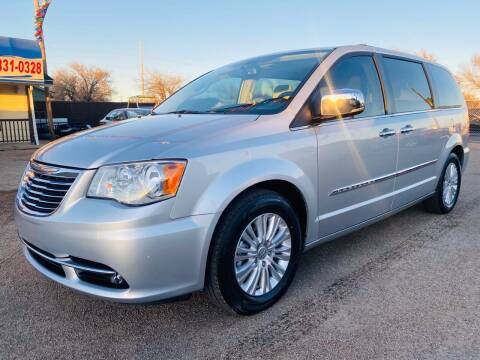 2012 Chrysler Town and Country for sale at California Auto Sales in Amarillo TX