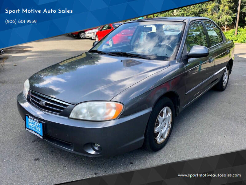 2002 Kia Spectra for sale at Sport Motive Auto Sales in Seattle WA