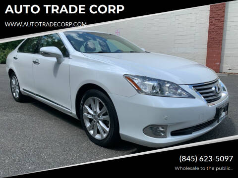 2011 Lexus ES 350 for sale at AUTO TRADE CORP in Nanuet NY