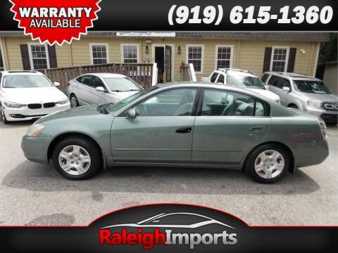 2004 Nissan Altima for sale at Raleigh Imports in Raleigh NC