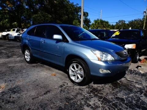2008 Lexus RX 350 for sale at DONNY MILLS AUTO SALES in Largo FL