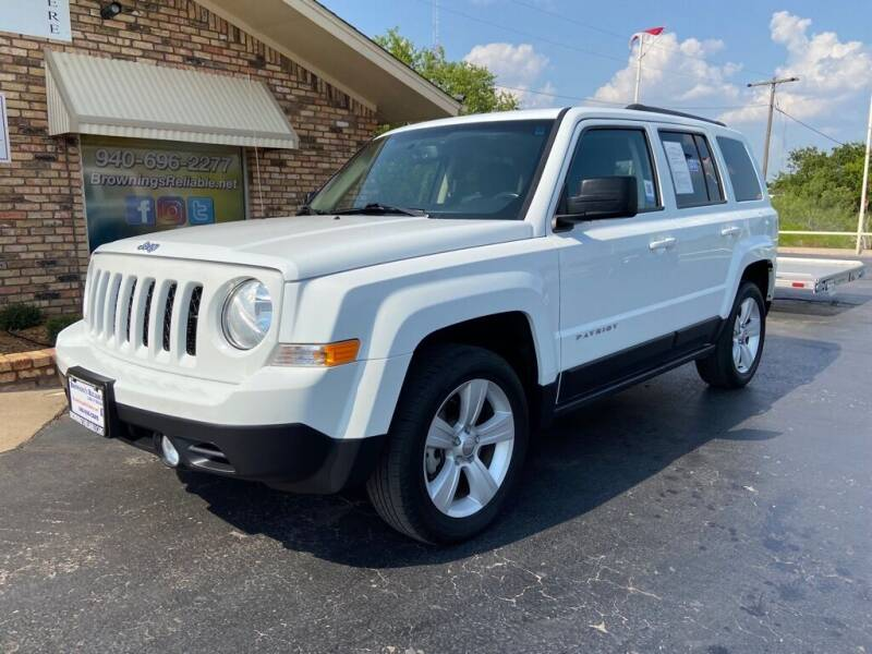 2017 Jeep Patriot for sale at Browning's Reliable Cars & Trucks in Wichita Falls TX