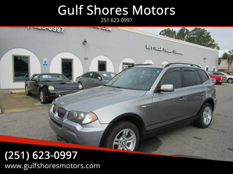 2006 BMW X3 for sale at Gulf Shores Motors in Gulf Shores AL