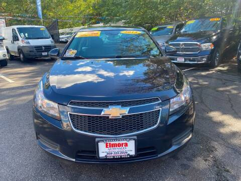 2014 Chevrolet Cruze for sale at Elmora Auto Sales in Elizabeth NJ