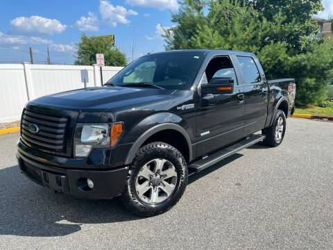 2012 Ford F-150 for sale at Giordano Auto Sales in Hasbrouck Heights NJ