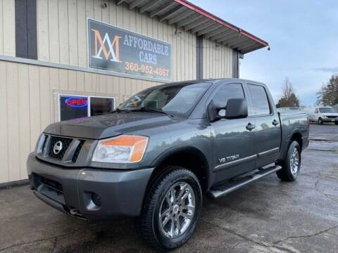 2011 Nissan Titan for sale at M & A Affordable Cars in Vancouver WA