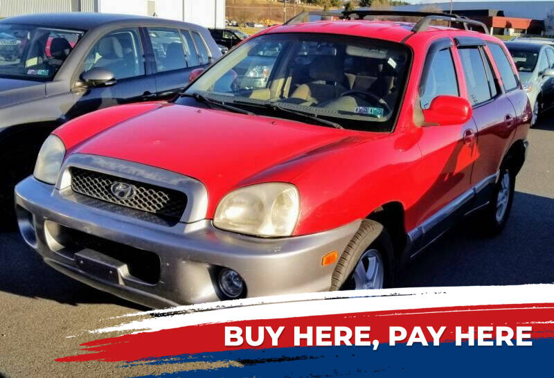 2004 Hyundai Santa Fe for sale at Lancaster Auto Detail & Auto Sales in Lancaster PA