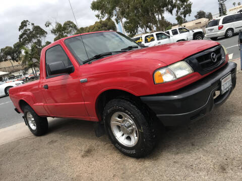 2006 Mazda B-Series Truck for sale at Beyer Enterprise in San Ysidro CA
