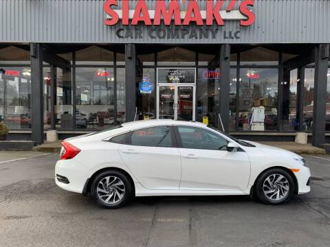 2016 Honda Civic for sale at Siamak's Car Company llc in Salem OR