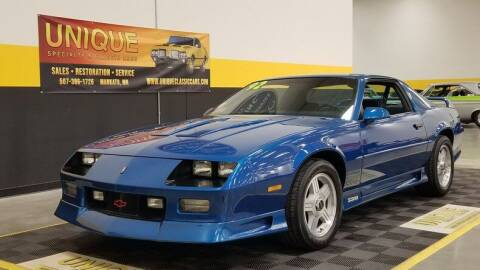 1992 Chevrolet Camaro for sale at UNIQUE SPECIALTY & CLASSICS in Mankato MN