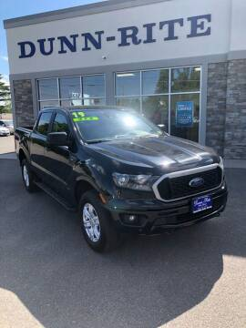 2019 Ford Ranger for sale at Dunn-Rite Auto Group in Kilmarnock VA