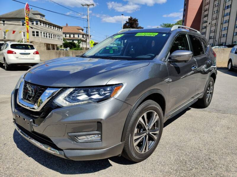 2017 Nissan Rogue for sale at Porcelli Auto Sales in West Warwick RI