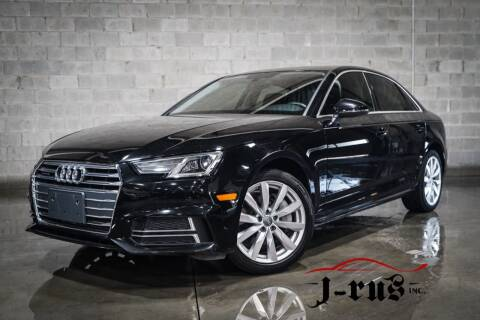 2018 Audi A4 for sale at J-Rus Inc. in Macomb MI
