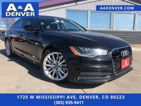2012 Audi A6 for sale at A & A AUTO LLC in Denver CO