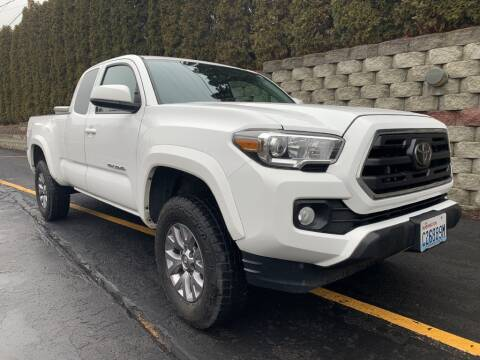 2018 Toyota Tacoma for sale at C & V Auto Sales & Service in Moses Lake WA