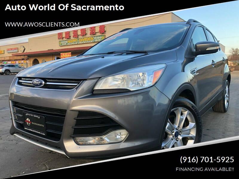 2013 Ford Escape for sale at Auto World of Sacramento Stockton Blvd in Sacramento CA