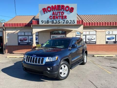 2011 Jeep Grand Cherokee for sale at Romeros Auto Center in Tulsa OK