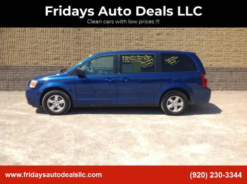 2010 Dodge Grand Caravan for sale at Fridays Auto Deals LLC in Oshkosh WI