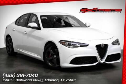 2018 Alfa Romeo Giulia for sale at EXTREME SPORTCARS INC in Carrollton TX