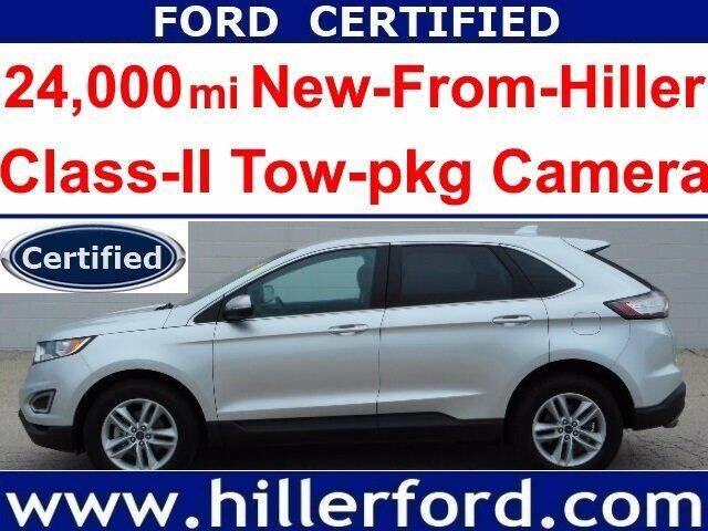 2018 Ford Edge for sale at HILLER FORD INC in Franklin WI