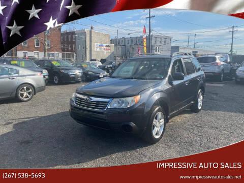 2010 Subaru Forester for sale at Impressive Auto Sales in Philadelphia PA