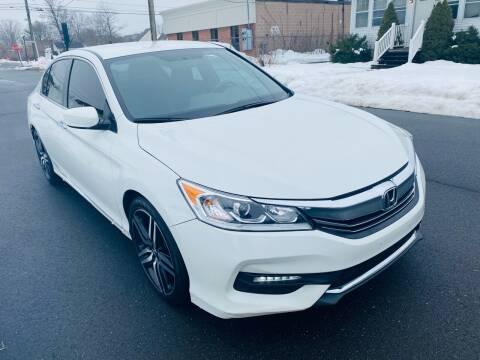 2017 Honda Accord for sale at Kensington Family Auto in Kensington CT