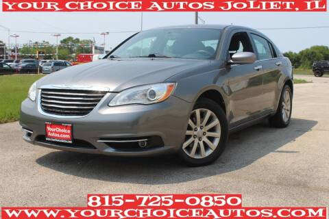 2013 Chrysler 200 for sale at Your Choice Autos - Joliet in Joliet IL