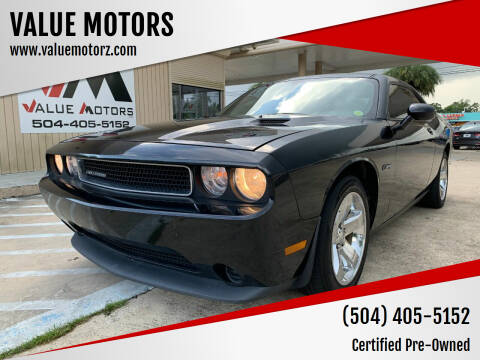 2014 Dodge Challenger for sale at VALUE MOTORS in Kenner LA